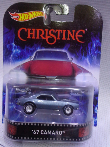 camaro christine hot wheels retro llanta de goma mod. cfr38