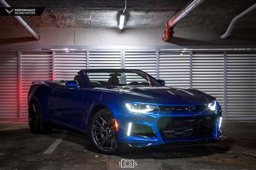 camaro zl1 2018 convertible 0 km