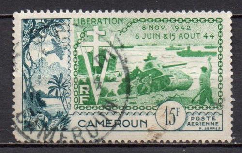 camarões - libertação - 1954 - aéreo c1