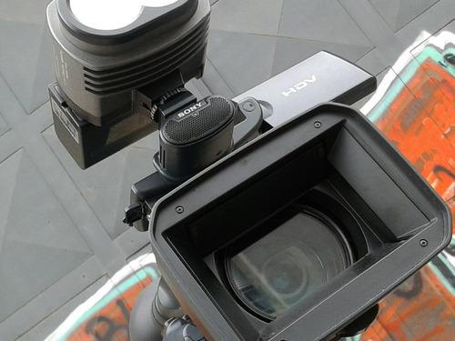 camarografo con camara hd