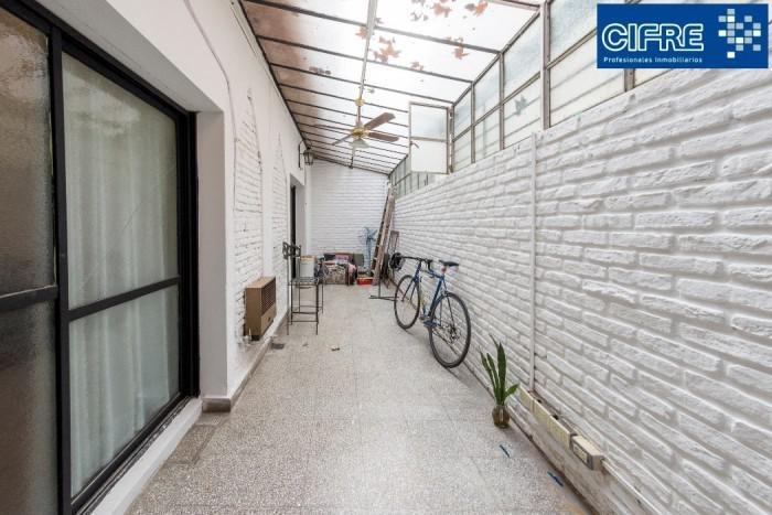 camarones 2700 - ph 4 ambientes, entreda indep, patio cubierto, 2 terrazas