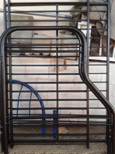 camarote metalico se convierte en dos camas nuevos