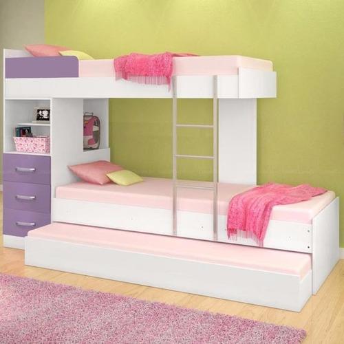 camarotes multifuncional,camas,,cajones,escalera 100%  nuevo