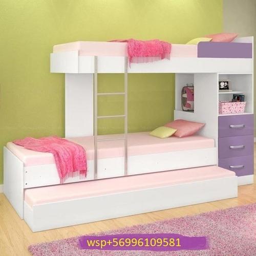 camarotes triples camas 100% nuevos