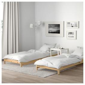 Apilables Plaza Camas Madera Simil Ikea 1 Natural Utaker xQsdChtr