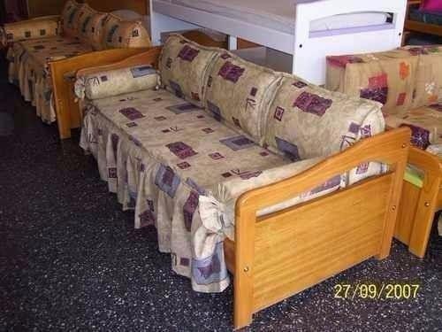 camas 1 plaza cuchetas rinconero divan.