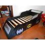 Cama Auto Batman Batimovil Unica Infantil