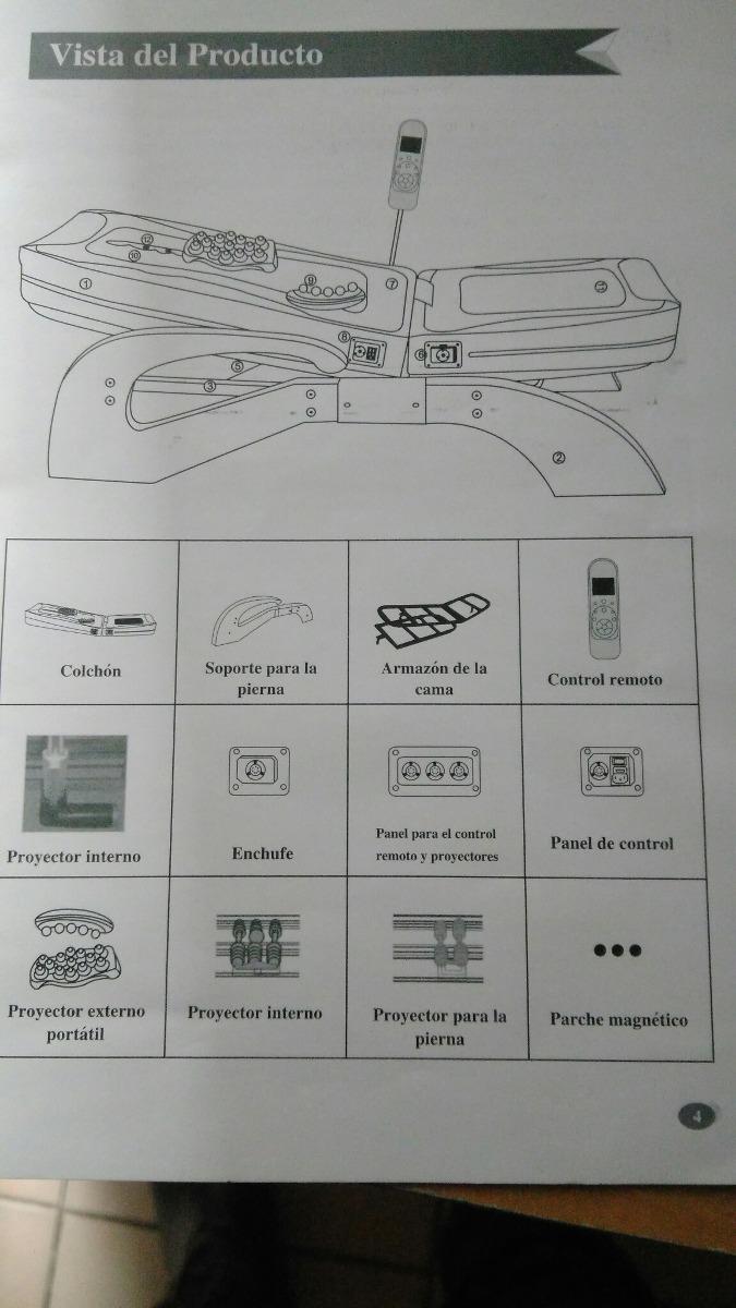 Camas Automasajeadora Con Piedras De Jade - $ 18.000,00 en Mercado Libre