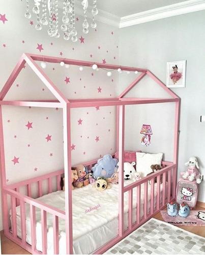 camas casitas modernas montessori  para niños