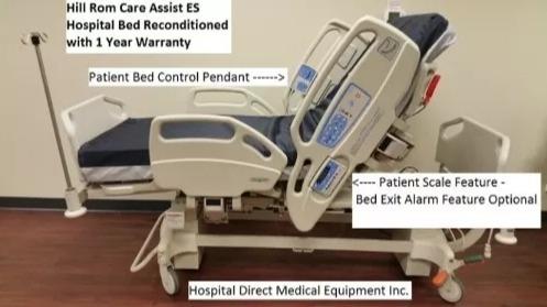 camas clinicas electricas hill rom americanas