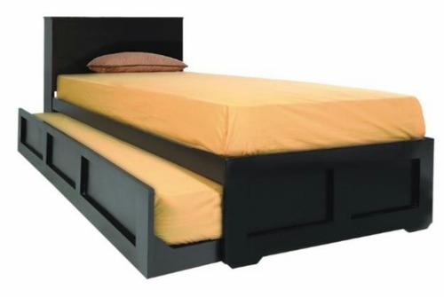 camas con nido individual y matrimonial nuevas a pedido