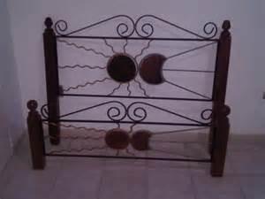 camas de hierro y madera importadas desde 1plz