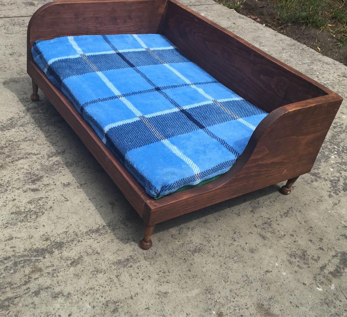camas de madera para perros 1 en mercado libre