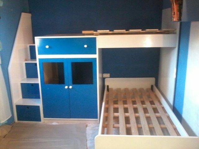 Infantiles dobles habitacin doble de estilo clsico with for Camas infantiles dobles
