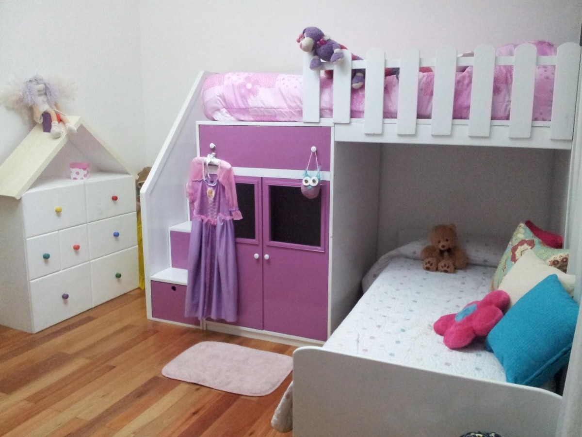 Camas Infantiles Doble