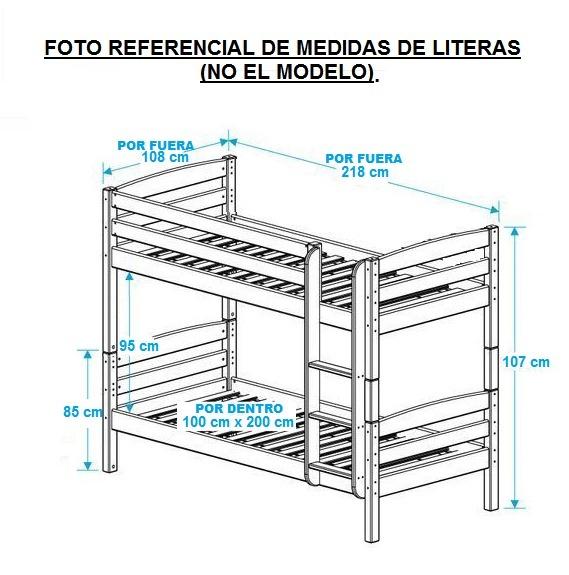 Camas Litera O Individuales De Madera Bs 7000000 En Mercado Libre