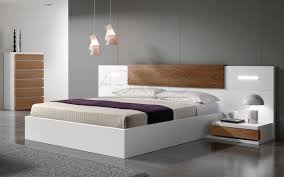 camas modernas lineales plazas