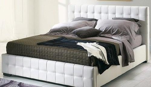 camas modernas queen king matrimadera pino fabricantes