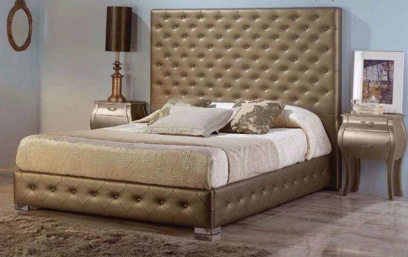 Camas modernas tapizadas capinoteado somos fabricantes - Tiempo en camas ...
