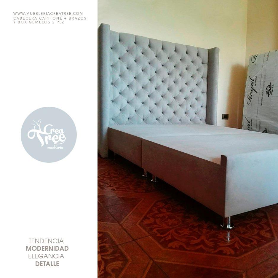 Cabeceras Tapizadas, Camas, Muebles De Sala Y Más - S/ 249,00 en ...