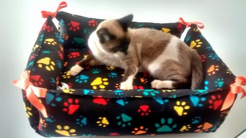 camas para gato, com zíper, lavagem na máquina