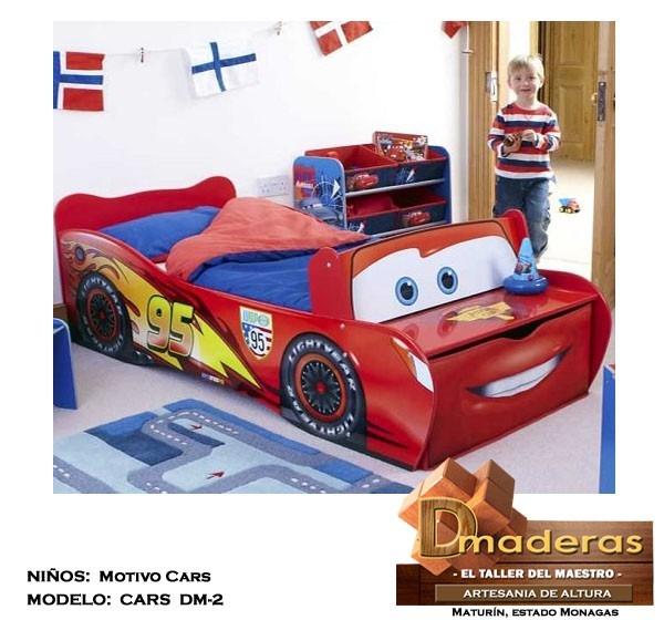Camas para ni os peque os modelo cars 1 70 x 0 80 cm bs - Cama para ninos pequenos ...