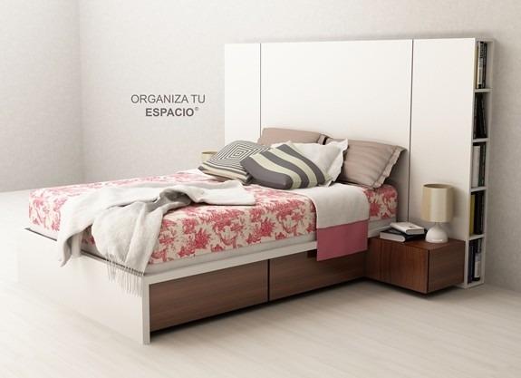 camas plazas muebles
