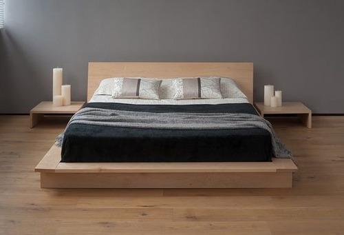 camas recamaras con mesas de noche(somos fabricantes)