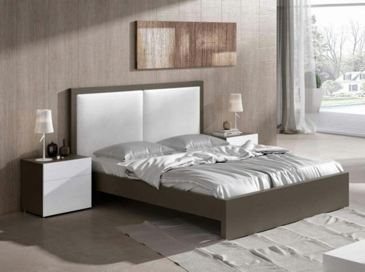 Camas tapizadas matrimoniales modernas bs - Modelos de dormitorios matrimoniales ...