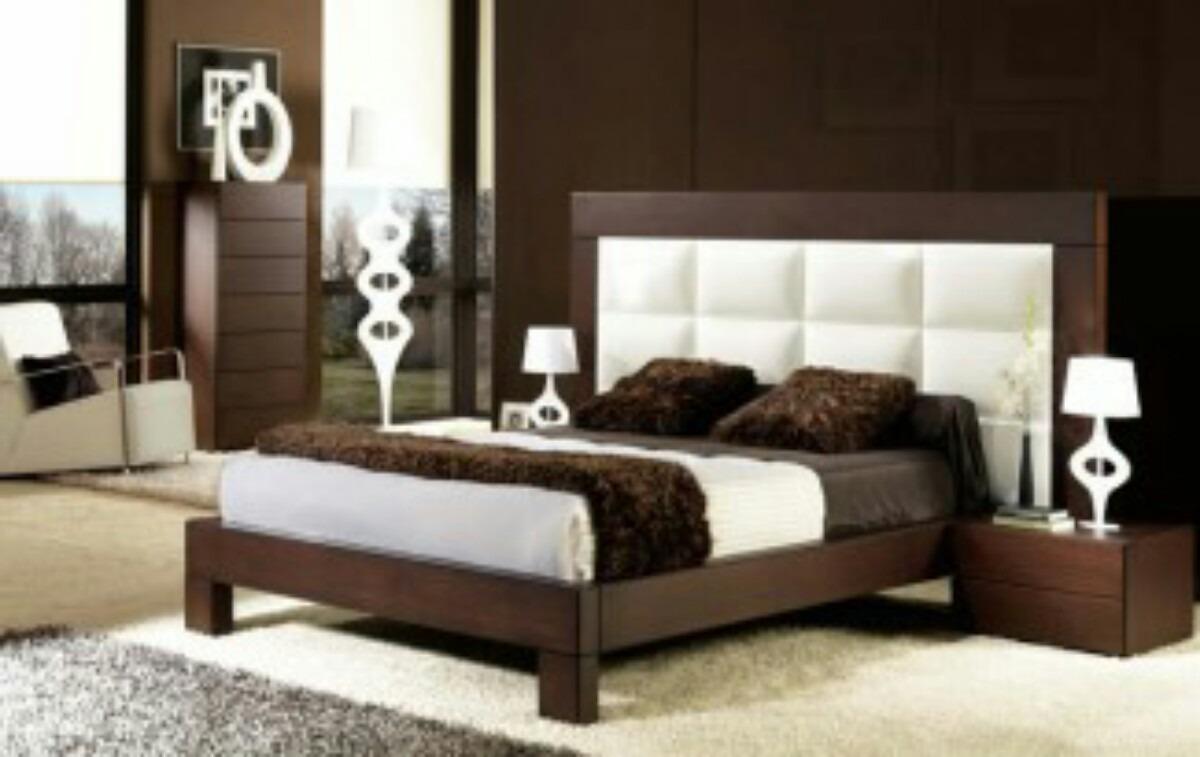 Camas tapizadas matrimoniales modernas bs - Fotos de camas bonitas ...