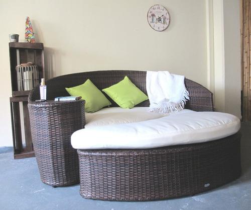 camastro 2 módulos. tipo sofa cama con apoya pies