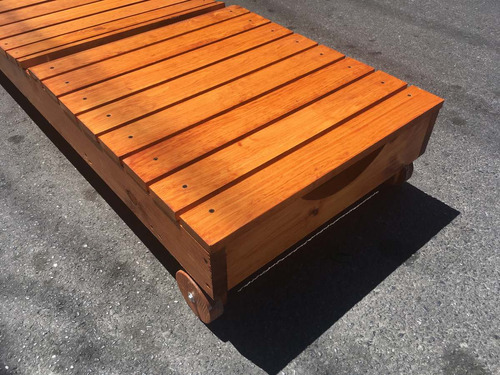camastro de madera