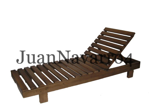 camastro madera reposera