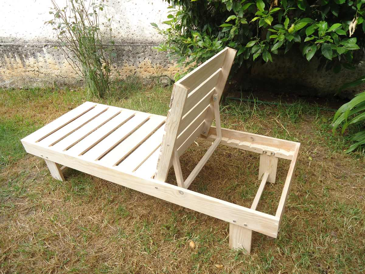 Camastro para alberca o playa de 7 posiciones 3 for Camastros de hierro para jardin