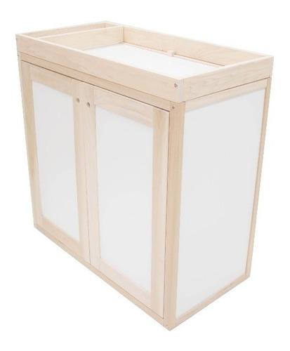 cambiador bebé para comoda kit madera accesorio sin base
