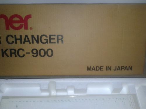 cambiador de colores tejer brother krc-900