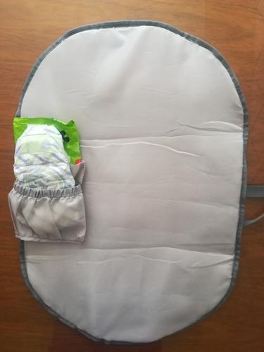 cambiador portátil de bebé