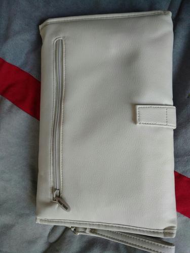 cambiador portátil para bebé tuc tuc natural (polipiel)