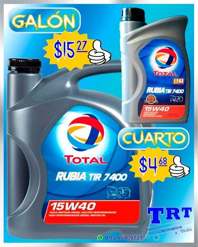 cambio aceite kendall y total más filtro 20w50 10w30 15w40