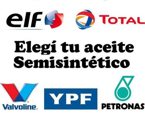 cambio aceite y filtro ford fiesta 1.3i lx 8v desde 1996