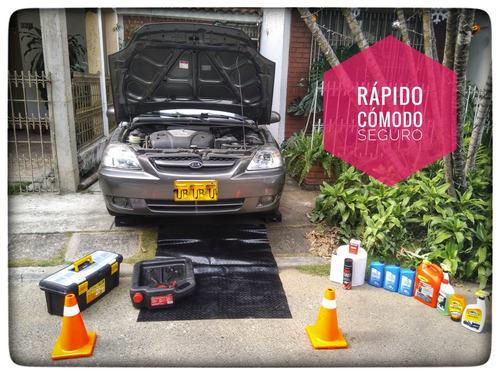 cambio de aceite a domicilio para autos y camionetas