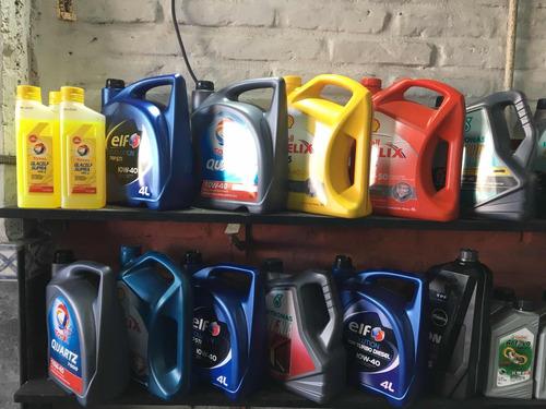 cambio de aceite completo, lubricentro, filtros originales
