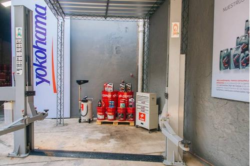 cambio de aceite con filtro incluído. lubricentro cepsa