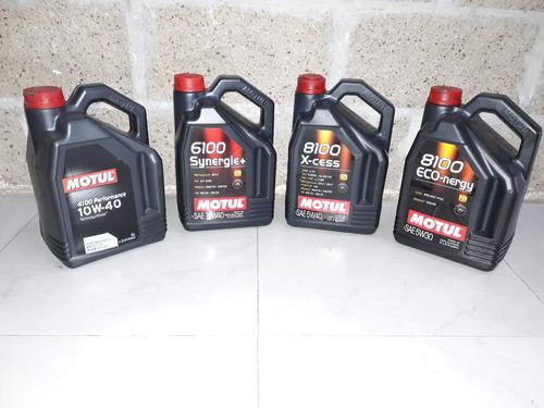 cambio de aceite motul y filtro