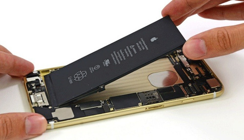 cambio de batería iphone 6 y 6s con colocación ramos mejía