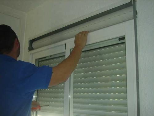 cambio de cinta correa de cortinas persianas de enrollar