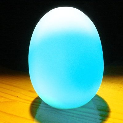 cambio de color led huevo baby kid mood lámpara night light