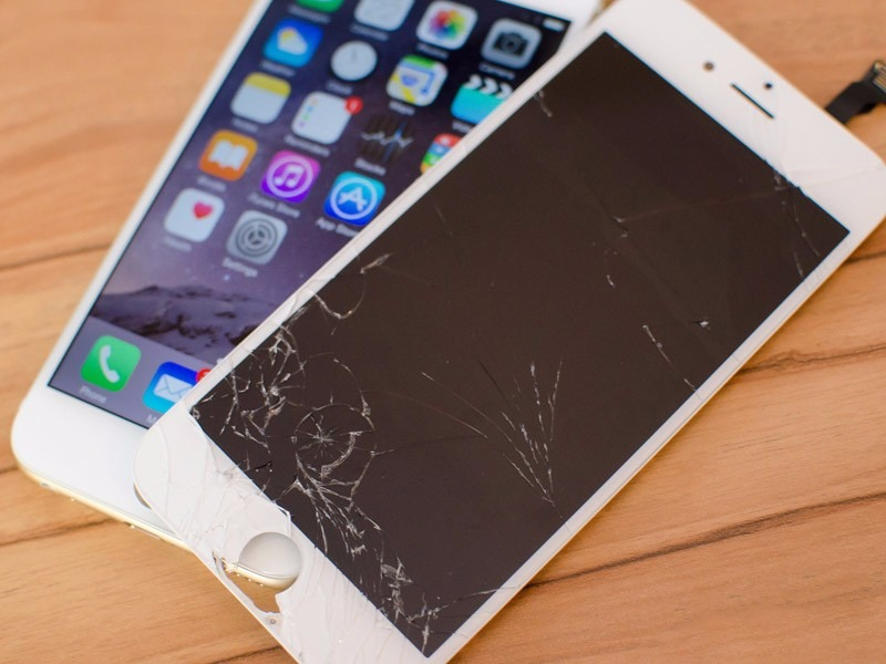 74f99b4a73f Cambio De Cristal iPhone 6 Plus - $ 1,399.00 en Mercado Libre