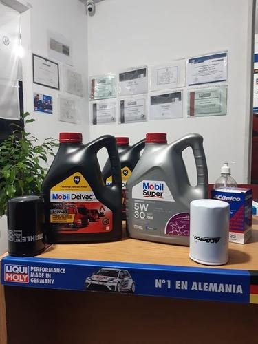 cambio de filtro y aceite de tu motor.