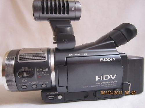 cambio de flex de pantalla de sony hdr-hc1e,    hvr-a1c